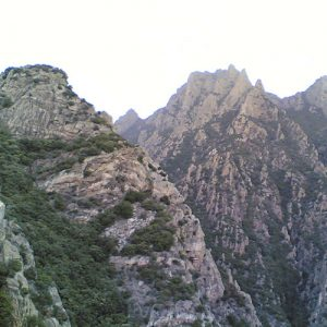 hébergement mont Caroux